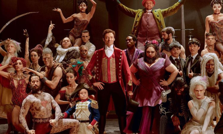 the greatest showman cast